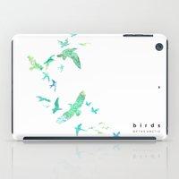 Birds of the arctic iPad Case