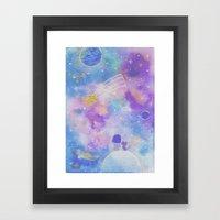 you are my lucky star Framed Art Print