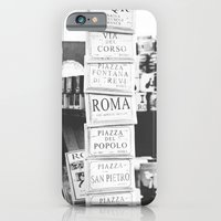iPhone & iPod Case featuring art tiles in Rome by Theresia Pauls