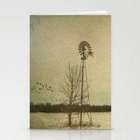 While The Wind Moans A D… Stationery Cards