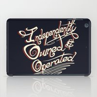 Independently Owned & Op… iPad Case