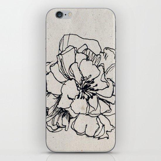 Flower Hairpin iPhone & iPod Skin