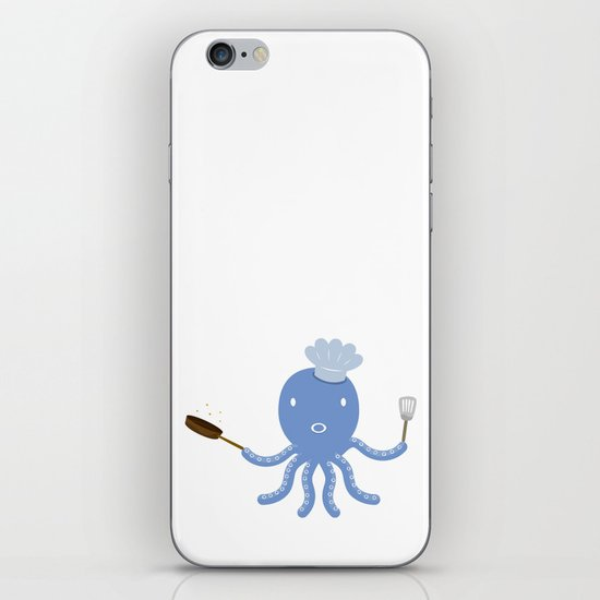 Octopus shef iPhone & iPod Skin