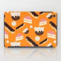 sweet things (on orange) iPad Case