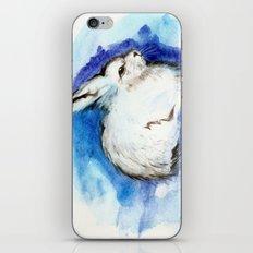 Grumpy Artic Hare iPhone & iPod Skin
