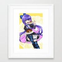 Stocking Framed Art Print