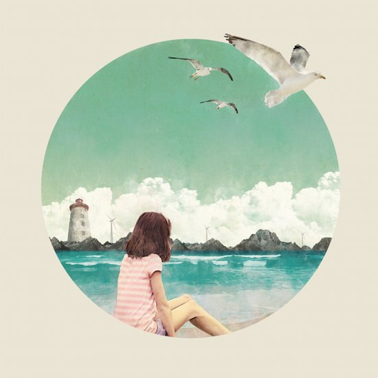 Calm ocean Art Print