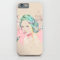cherry blossom iPhone & iPod Cases featuring Cherry Blossom  by Ariana Perez