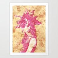 Bird's Nest Art Print