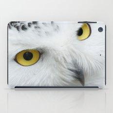 Snowy Owl Eyes iPad Case