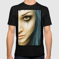 Unstoppable: A Vampiric Warrior  Mens Fitted Tee Tri-Black SMALL
