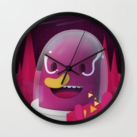 Inter Something Unimportant Wall Clock