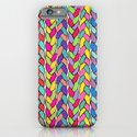 Rainbow Braids iPhone & iPod Case