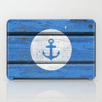 Nautical White Anchor On… iPad Case