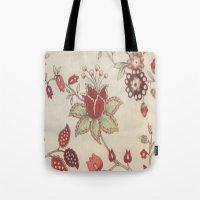 Vitage Rose Tote Bag