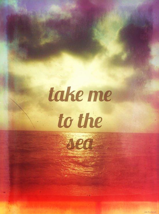 take to the sea Art Print