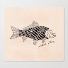Catfish blues Canvas Print