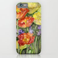 iPhone & iPod Case featuring Poppies by Glashka