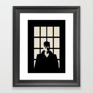 Detective Quill Framed Art Print