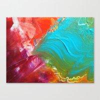 Scratch  Canvas Print