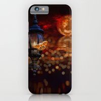 iPhone & iPod Case featuring Like A Moth To A Flame by Happi Anarky