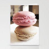 Macarons De Versailles Stationery Cards