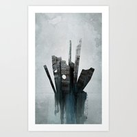 Pathfinder - Experimental Art Print
