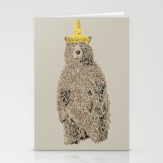 Honey Bear Stationery Card