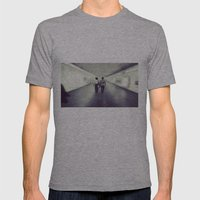 Long Walk Home Mens Fitted Tee Athletic Grey SMALL