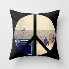 Woodstock 69 Throw Pillow
