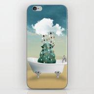 SHOWER CURTAIN iPhone & iPod Skin