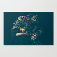 Burdened Canvas Print