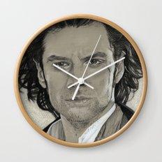 Aidan Turner: Poldark Wall Clock