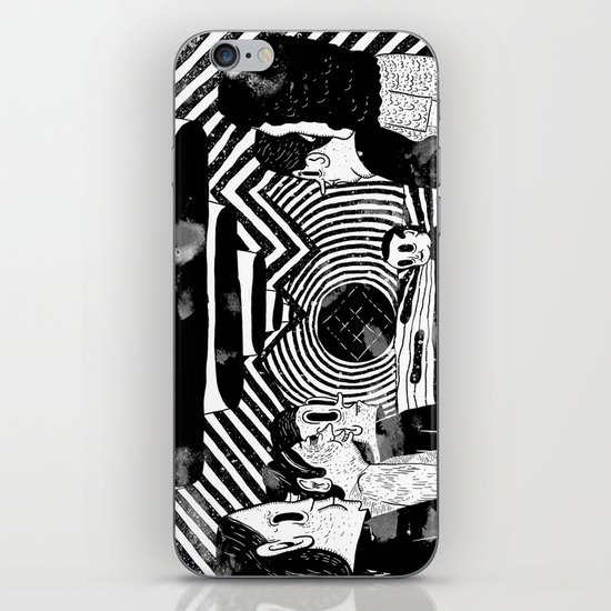 """Reflektor"" by Steven Fiche iPhone & iPod Skin"