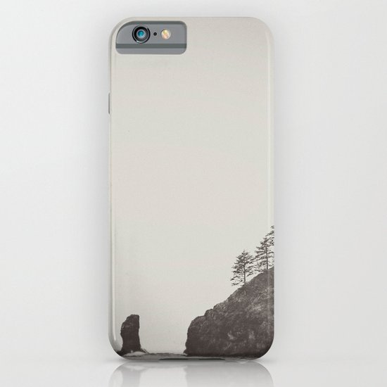 Beach Black and White iPhone & iPod Case