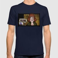 The Female Form Mens Fitted Tee Navy SMALL