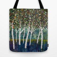 Evening Aspens Tote Bag