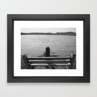 Rising Waters Framed Art Print