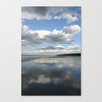 Double Sky Canvas Print
