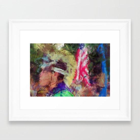 Igvyi Yvwanegv Framed Art Print