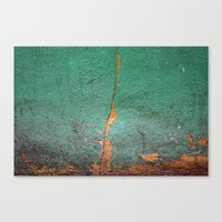 Cracked wall Canvas Print