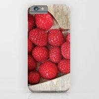 Raspberry Heart iPhone 6 Slim Case