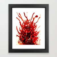 Carnage watercolor Framed Art Print