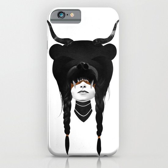Bear Warrior iPhone & iPod Case