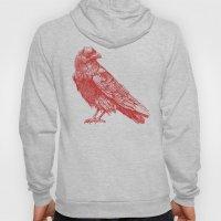 Red Raven  Hoody