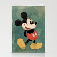 Mr. Mickey Mouse Stationery Cards