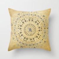 Spirit Mandala Throw Pillow