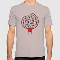 Holding It All Together Mens Fitted Tee Cinder SMALL