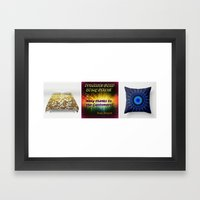 Sold Products at my store! Framed Art Print