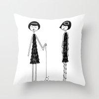 Unlike Eloise, Ramona Ha… Throw Pillow